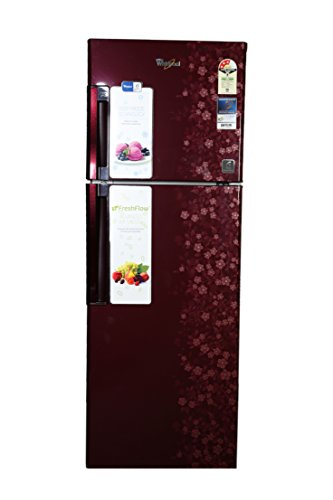 Whirlpool 265 L 3 Star Frost-Free Double Door Refrigerator (Neo FR278 Roy Plus 3S, Wine Exotica)