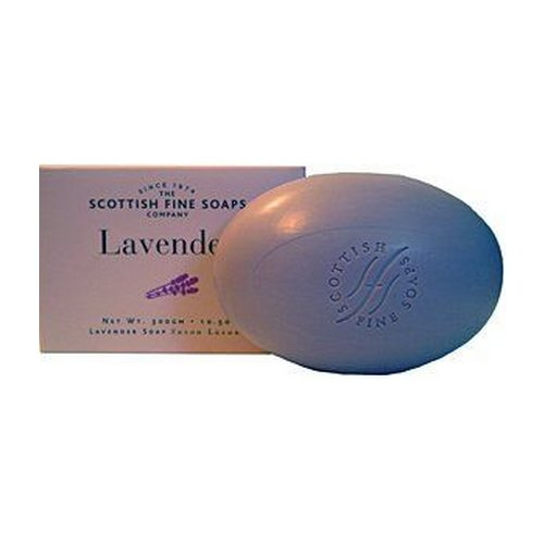 Scottish Fine Soaps Lavender Single Soap Bar 10.5 Oz. by The Scottish Fine Soaps Company