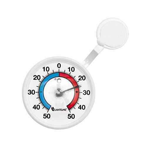 Termómetro analógico bimetal