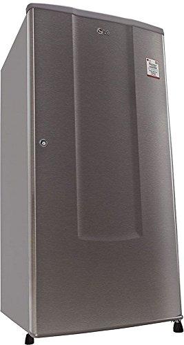 LG 185 L 1 Star Direct-Cool Single Door Refrigerator (GL-B181RDSU.ADSZEBN, Dazzle Steel)