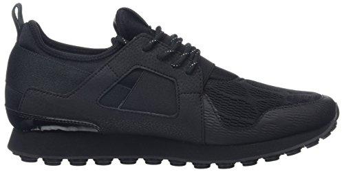 Cruyff Herren Traxx Sneaker Schwarz (Schwarz)