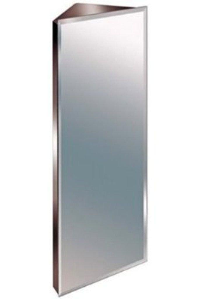 Zanex Bevelled Edge Stainless Steel Mirror Bathroom Corner Cabinet 3 SIZES 900MM Amazoncouk Kitchen Home