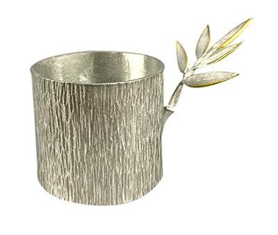 Spicy Meow Accessoires créatifs de thé de Kung Fu de videur Pur de thé d'étain, Une Base de videur de thé de ba
