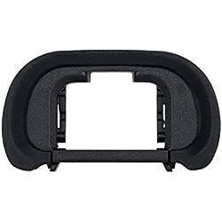 JJC Œilleton oculaire Tasse Bandeau pour Yeux Viseur pour Sony Alpha A9A7A7ii A7iii A7R A7rii A7riii A7S A7sii A58A99ii/Ilce-9ILCE-77M27M37S 7SM27R 7rm27rm3, remplace Sony Fda-ep18