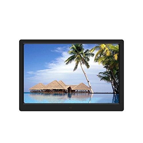 Asiproper 39,1cm Digital HD Bilderrahmen MP3MP4Film Player Kalender Wecker