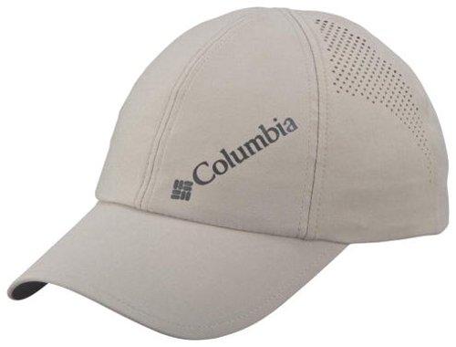 Columbia Herren Silver Ridge Ball Cap Kappe, Größenverstellbar, Einheitsgröße, beige (fossil), CL9981 (Columbia Sportliche Kappe)