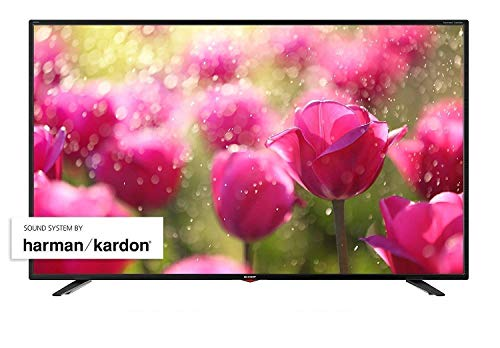 SHARP 65BJ3E 164 cm (65 Zoll) 4K Ultra HD Smart LED TV, HDR, Harman/Kardon Soundsystem, Triple Tuner