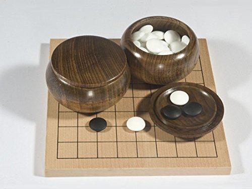 Go-Spiel: 9x9-Set mit Eschen-Dosen