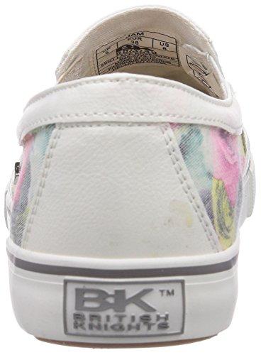 British Knights - Jam, Sneaker basse Donna Bianco (Weiß (Mint Lace Rose 10))