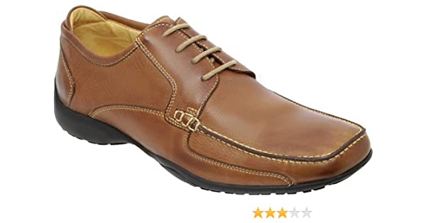 Anatomic /& Co Goias Soft Tan Leather Lace UPS Wide Fitting Chaussures RRP £ 129.95