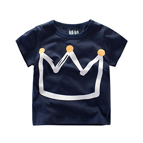 Logobeing Ropa Bebe Verano 2-7 Años Niño Camiseta