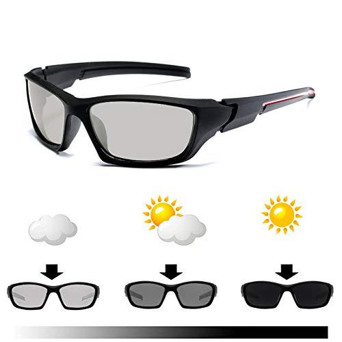 WZYMNTYJ Fahren polarisierten Sonnenbrillen Männer Chameleon Brille Frauen Sonnenbrillen Driver Goggles