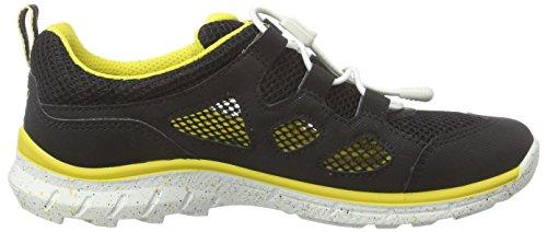 Ecco ECCO BIOM TRAIL KIDS, Unisex-Kinder Sneakers Schwarz (BLACK/BLACK 53960)