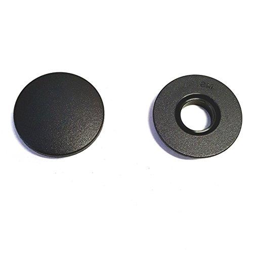 Akhan MS26 - Fussmatten Befestigung Clip, Drehknebel, Halter, Druckknopf, oval, rund