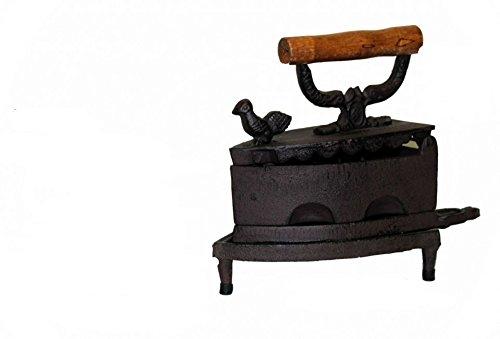 Kontinuierliche Bügeleisen A Holzkohle aus Gusseisen Hahn Gusseisen Bügeleisen