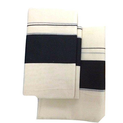 Infant Yogi™ Kerala Handloom Cotton Set Mundu( Single), Mundu & Neriyathu, Mundu...
