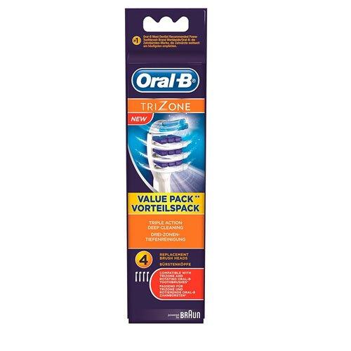Oral-B TriZone Aufsteckbürsten, 4er Pack