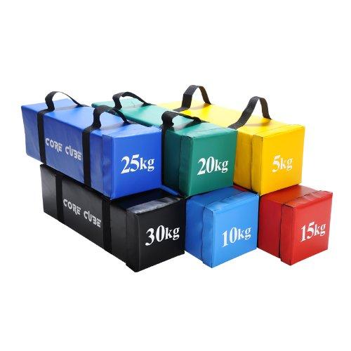 Contak-Attack-Fitness-Core-Cube-Power-Bag-5kg-10kg-15kg-20kg-25kg-30kg-Body-Strength-Crossfit-MMA-Fitness-Training-Aid-70cm-x-22cm-x-22cm-5-Kilograms