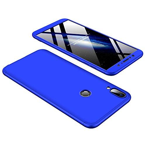 4-Unidades M1 Didisky Cristal Templado Protector de Pantalla para ASUS Zenfone MAX Pro Cobertura Completa Negro ZB601KL // ZB602KL 6.0, Dureza 9H