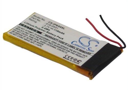 CS Akku 110mAh 3.7 V passend für Apple iPod Nano 6th, ipod nano 6th generation Nano Li-ionen-batterien