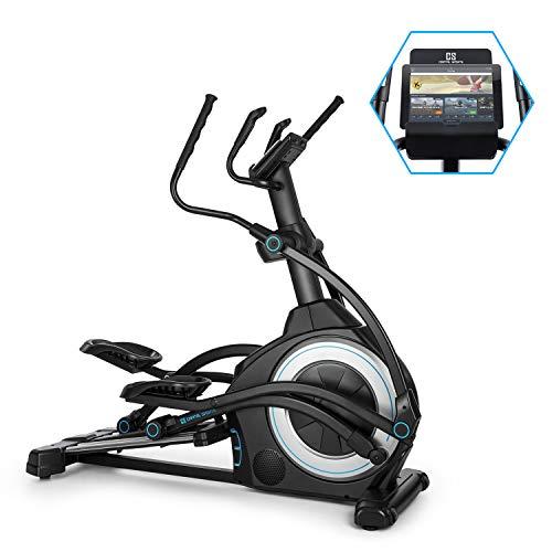 Capital Sports Helix Star UP Orbital Crosstrainer Heimtrainer, Kinomap-App-Unterstützung, Bluetooth, InclinePro:3-stufige Steigungsfunktion, Schwungmasse: 25kg, 32-stufiger Magnetwiderstand, schwarz