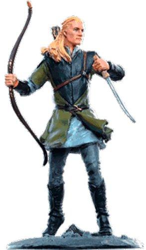 Lord of the Rings Señor de los Anillos Figurine Collection Nº 144 Legolas 1