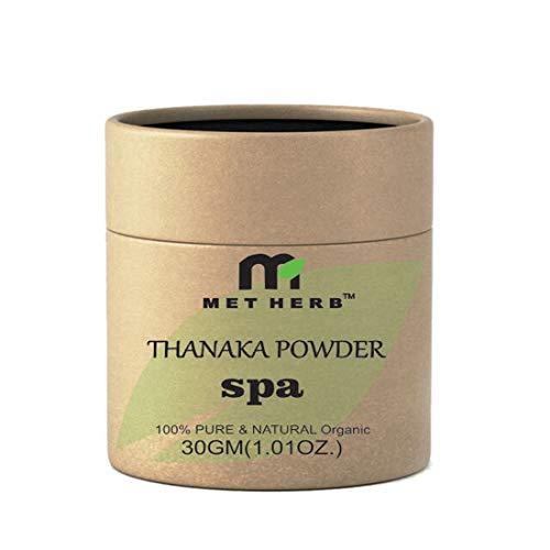 Buy Metherb Thanaka Bark Powder Face Mask And Scrub Permanent Hair