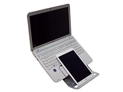 Go Mobiler Laptop-Ständer mit Copy/Tablet Halter und 9Stufen der Anpassung