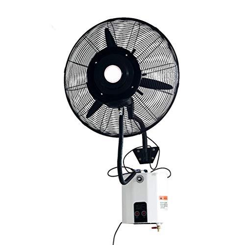 Ventilador montado en la Pared Ventilador de Pared Industrial Misting Enfriamiento oscilante Enfriamiento...