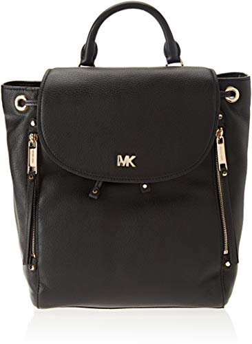 Michael Kors Backpack, Borsa a zainetto Donna, Nero (Black), 5x15x20 cm (W x H x L)