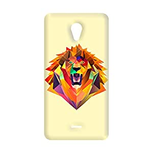 100 Degree Celsius Back Cover for Micromax Unite 2 A106 (Tiger Printed)