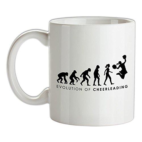 Evolution of Woman - Cheerleading - Bedruckte Kaffee- und ()