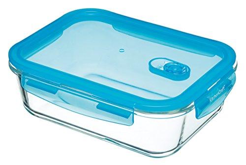 al luftdichter Lebensmittelbehälter/Auflaufform aus Glas, glas, farblos, 1.5 L (2.5 Pint) (Lock-und-lock-big Box)