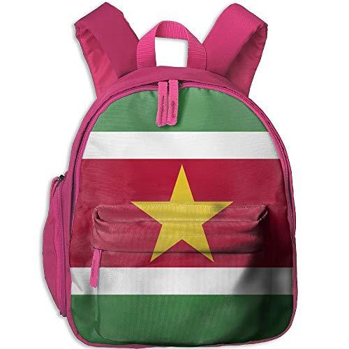 (Flag of Suriname Kid and Toddler Student Backpack School Bag Super Bookbag)