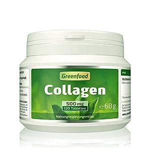 Collagen, 500 mg, hochdosiert, 120 Tablette – natürliches Collagenhydrolysat. OHNE künstliche Zusätze, ohne Gentechnik.