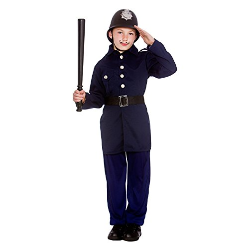 Cop Kostüm Boy - Boys Victorian Policeman Fancy Dress Up