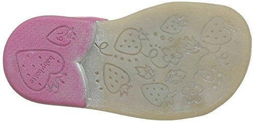 Babybotte Tikalou, Sandales Bout Fermé Fille Rose (Fuchsia Multi)
