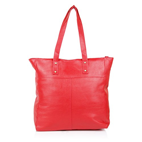 Alessia74 Women's Handbag (Red) (PBG465D)  available at amazon for Rs.664