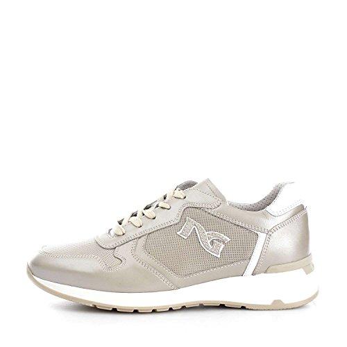 Nero Giardini P717044D Sneakers Donna Beige