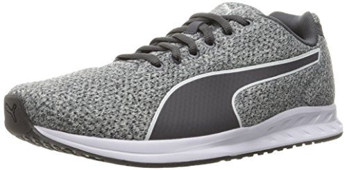 Puma Women s Burst Heather WN s Running Shoe  Periscope Gray Violet Periscope  3 UK