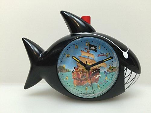 Capt 'n Sharky Shark Wecker, 15x 11x 5cm, Modell # 10814 (X 15-modell)
