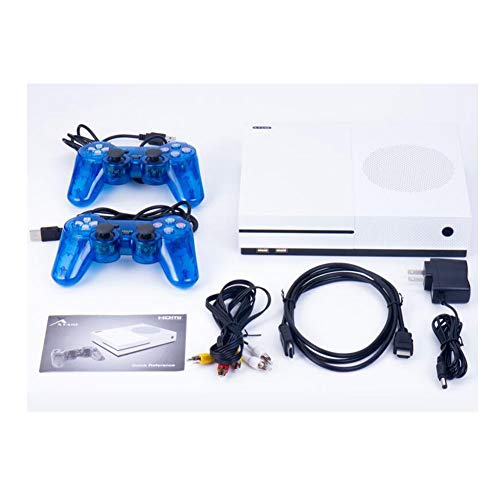 Price comparison product image MapleUK Fashion Double game Console,  Arcade game Console 64-bit xgame gba game Console nes MD HD TV Game 600 HD game Console