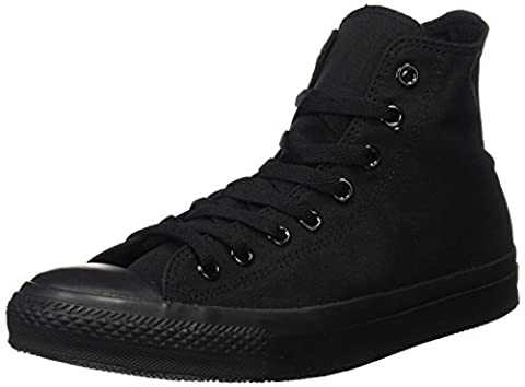 Converse Converse Sneakers Chuck Taylor All Star M3310, Unisex-Erwachsene Hohe Sneakers, Schwarz (Black Mono), 37,5 EU
