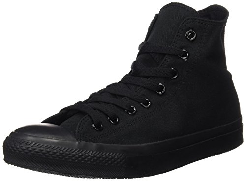 Converse CT All Star Hi Black Canvas Mens Trainers Size 9.5 UK