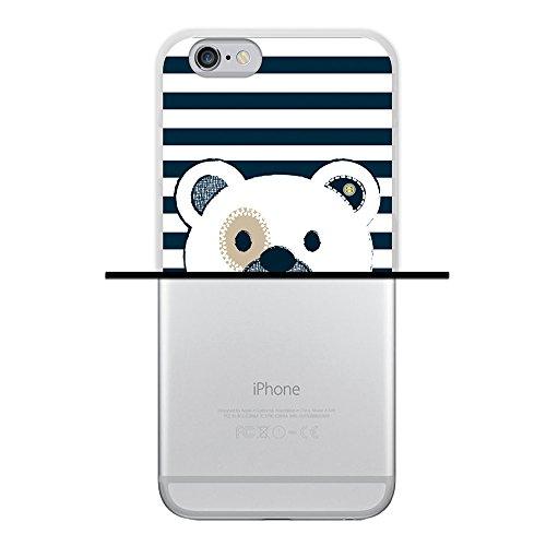 iPhone 6 6S Hülle, WoowCase Handyhülle Silikon für [ iPhone 6 6S ] Tier Schwarze haut des krokodils Handytasche Handy Cover Case Schutzhülle Flexible TPU - Transparent Housse Gel iPhone 6 6S Transparent D0467