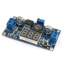 Uzinb DC-DC Adjustable Power Step-down Module LM2596 Buck LED Converter Board 4V-40V to 1.25V-37V Voltage Regulator