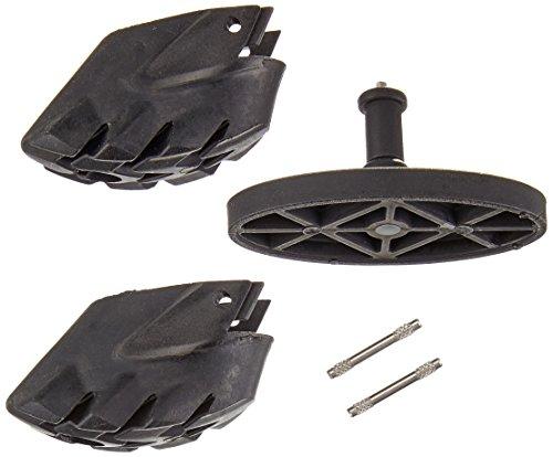 LEKI Smart Tip Pad Gummipuffer (Paar), Black, One Size