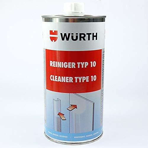 Würth Reiniger Typ 10 Kunststofffenster PVC Fenster Kunststoffreiniger 089210010
