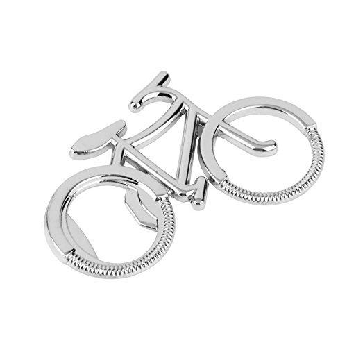 Oyfel Schlüsselbund Flaschenöffner Aluminiumlegierung Anhänger Schlüsselanhänger Schlüsselringe Öffner Keychain für Bier Fahrrad
