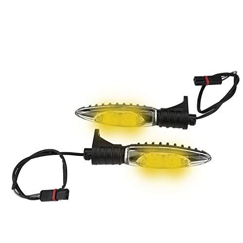 Vobor Blinker Kontrollleuchten Motorrad Front LED Blinker Kontrollleuchte Blinker Lampe für BMW R1200GS ADV 2014-2017